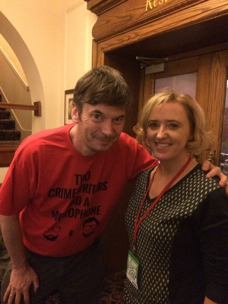 Liz bumped into Ian Rankin